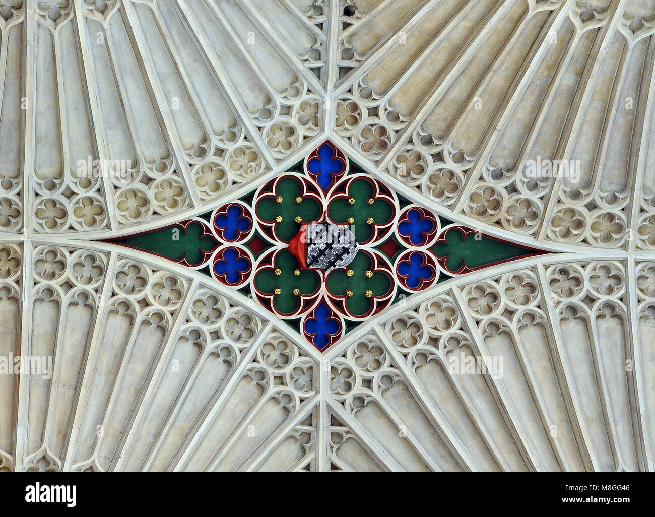 The Abbey Church of Saint Peter and Saint Paul, Bath, - Stock Image