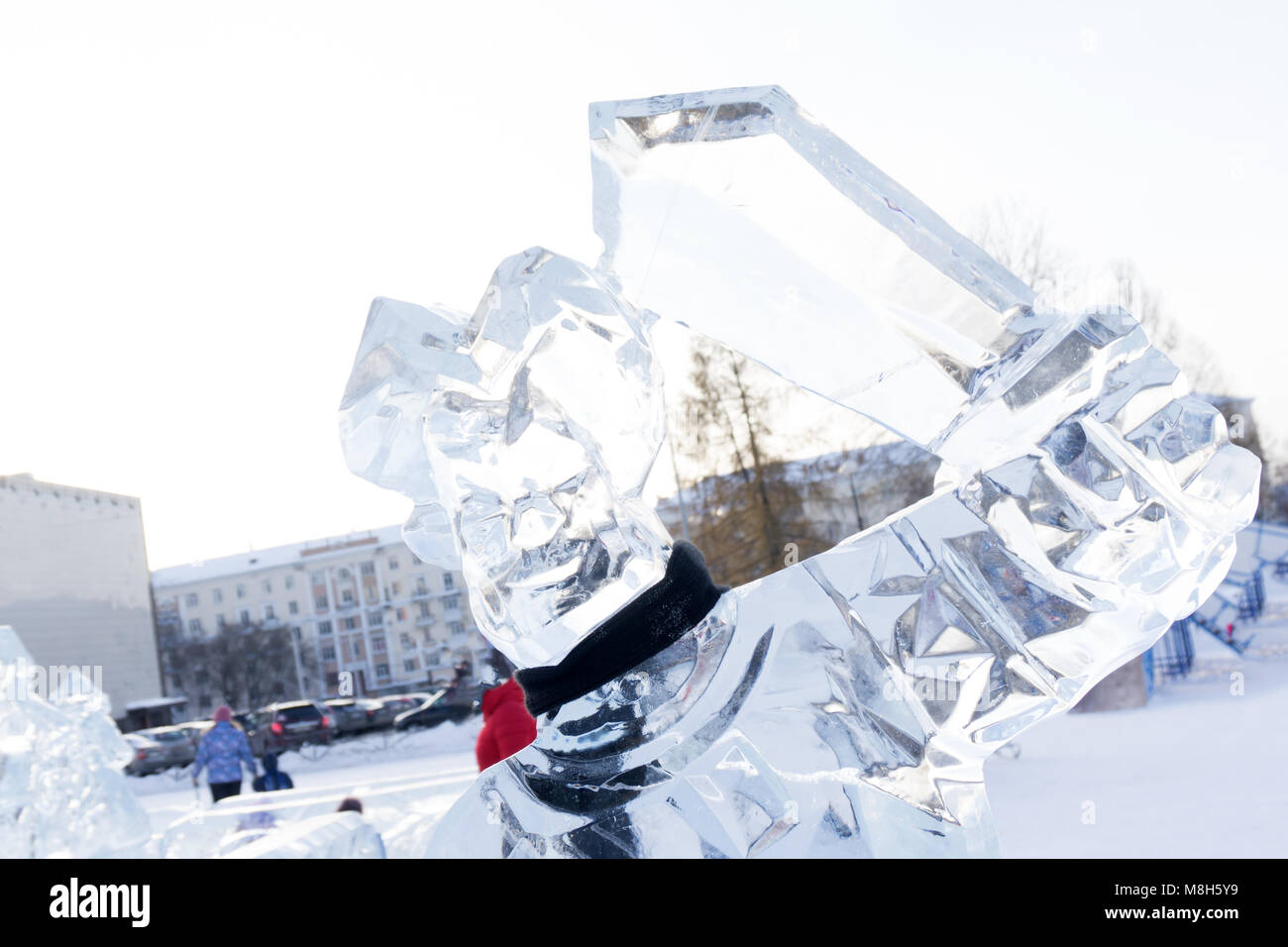 Ice Angel Sculpture Stock Photos & Ice Angel Sculpture Stock Images ...