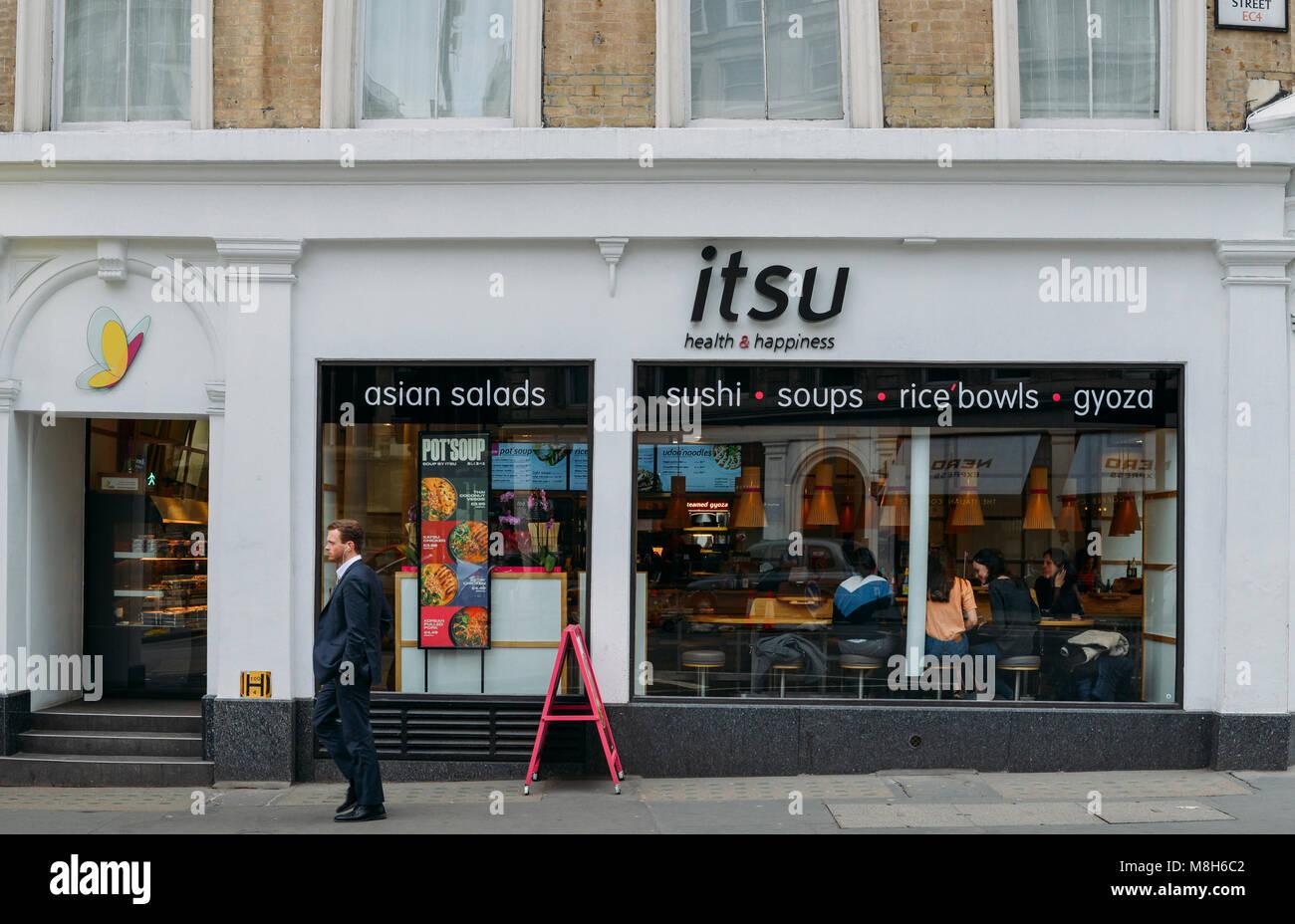 Fast Food Sushi Restaurant Chain