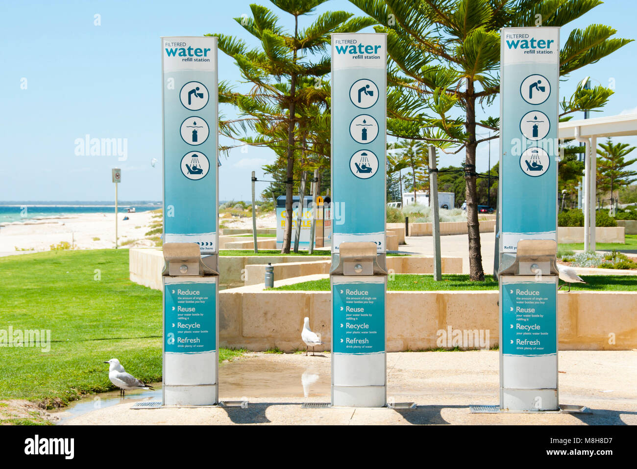 Water Refill Station - Stock Image