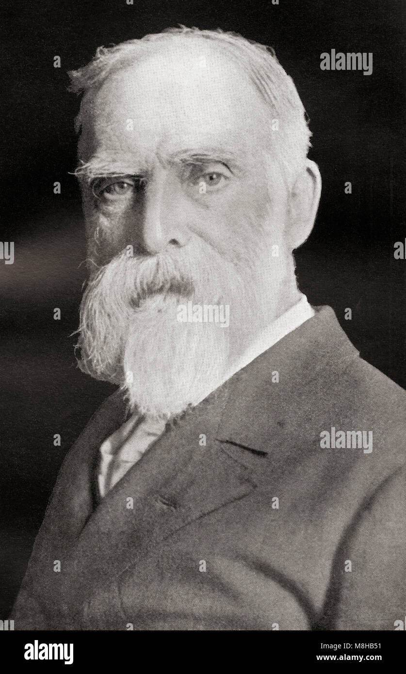 James Bryce, 1st Viscount Bryce, 1838 – 1922.  British academic, jurist, historian and Liberal politician.  From - Stock Image