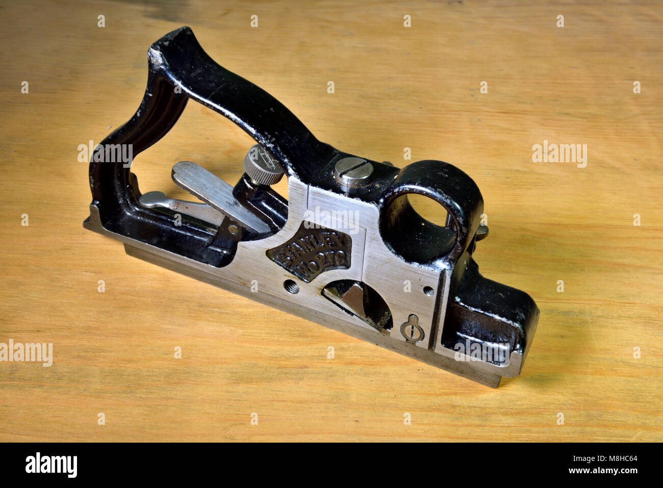 Stanley 278 rabbet and fillitster woodworking plane, made from 1915 to 1943 - Stock Image