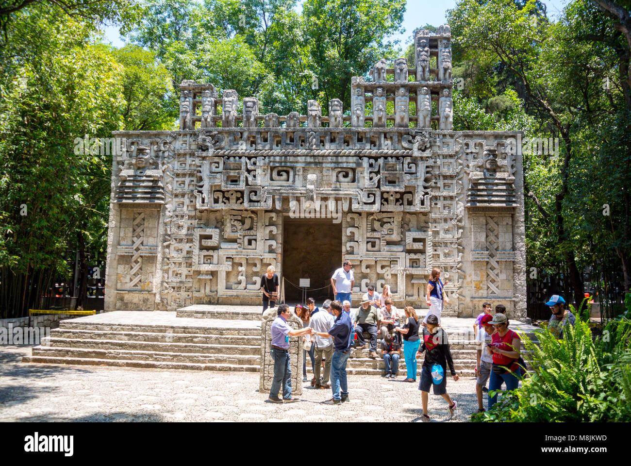 Museo Nacional de Antropologia Mexico City Mexico - Stock Image