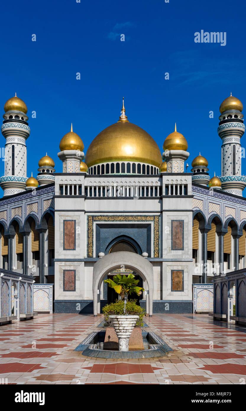 Brunei Darussalam Bandar Seri Begawan March 17, 2018 Jame'Asr Hassanil Bolkiah Mosque One of Brunei's most - Stock Image