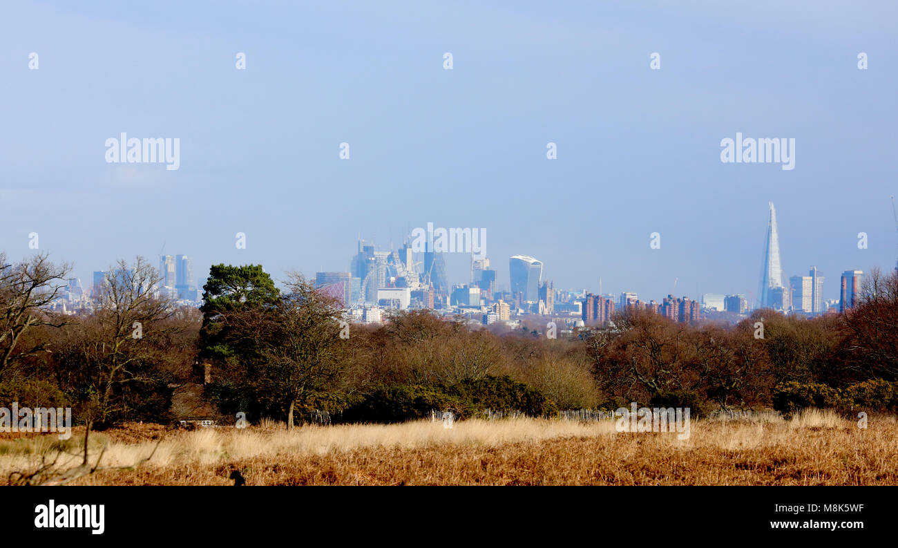 London is one of the greenest in Europe, and for the last few years a group of campaigners have been working to - Stock Image