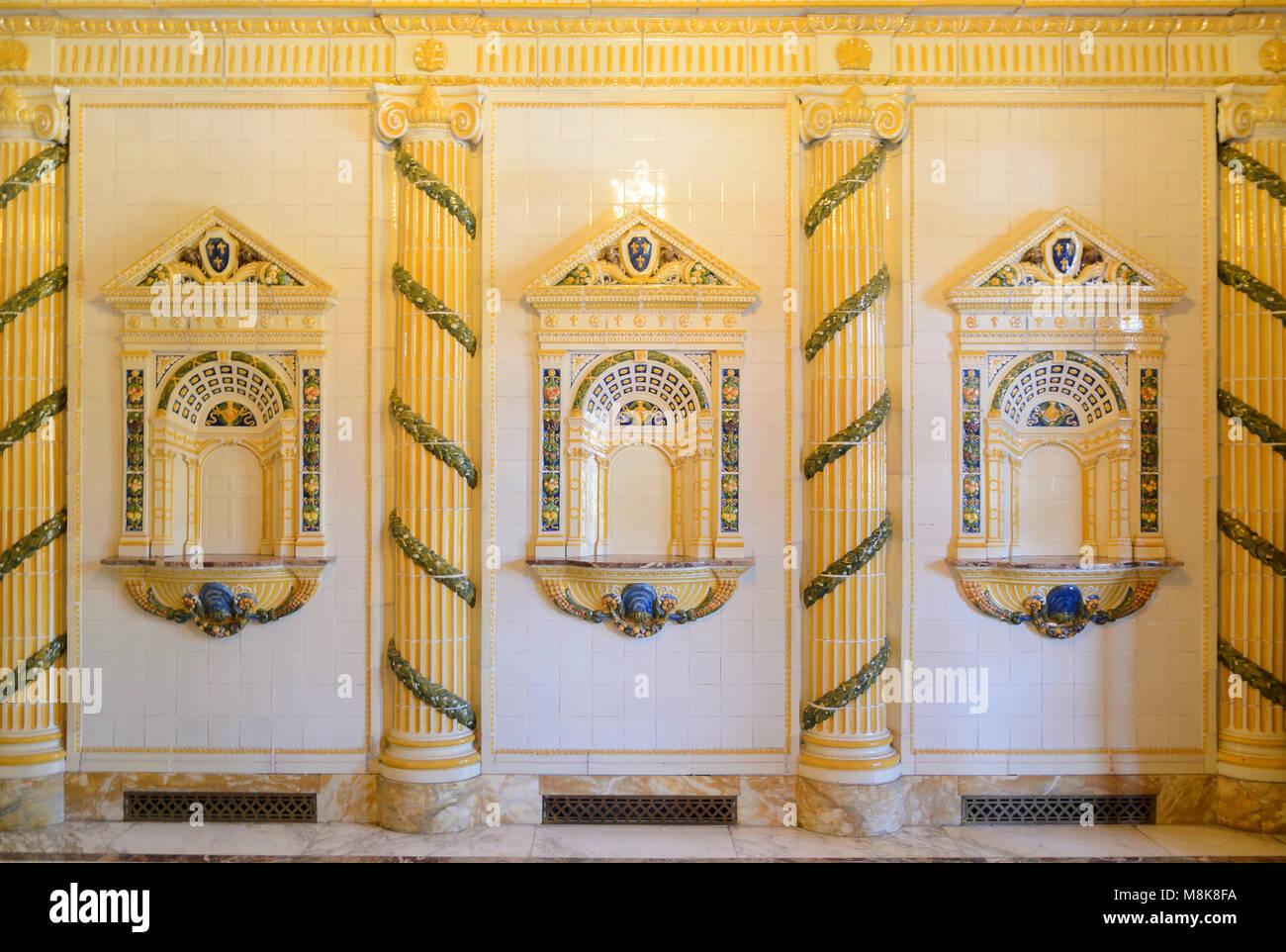 Kaiser-Friedrich-Therme, Wiesbaden, Hessen, Deutschland Stock Photo