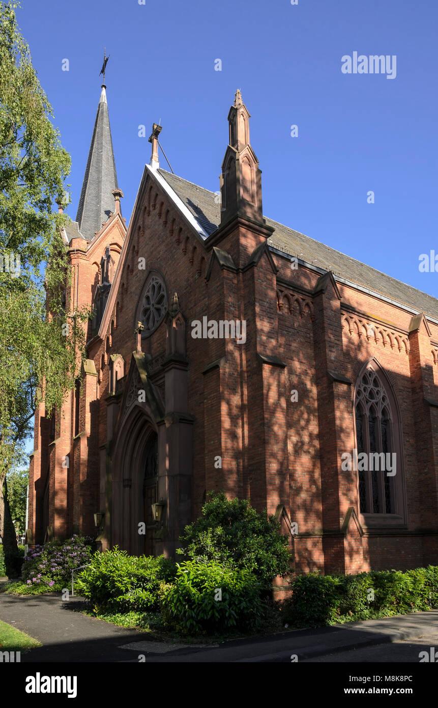 Englische Kirche, Wiesbaden, Hessen, Deutschland, Europa - Stock Image