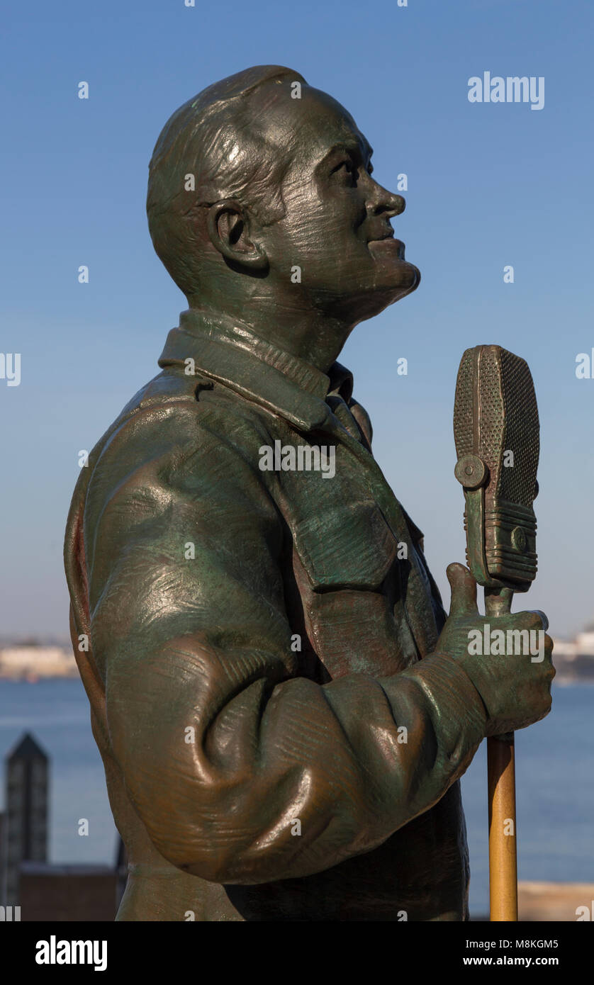 A National Salute to Bob Hope and the Military by Eugene Daub & Steven Whyte, San Diego, California, USA - Stock Image