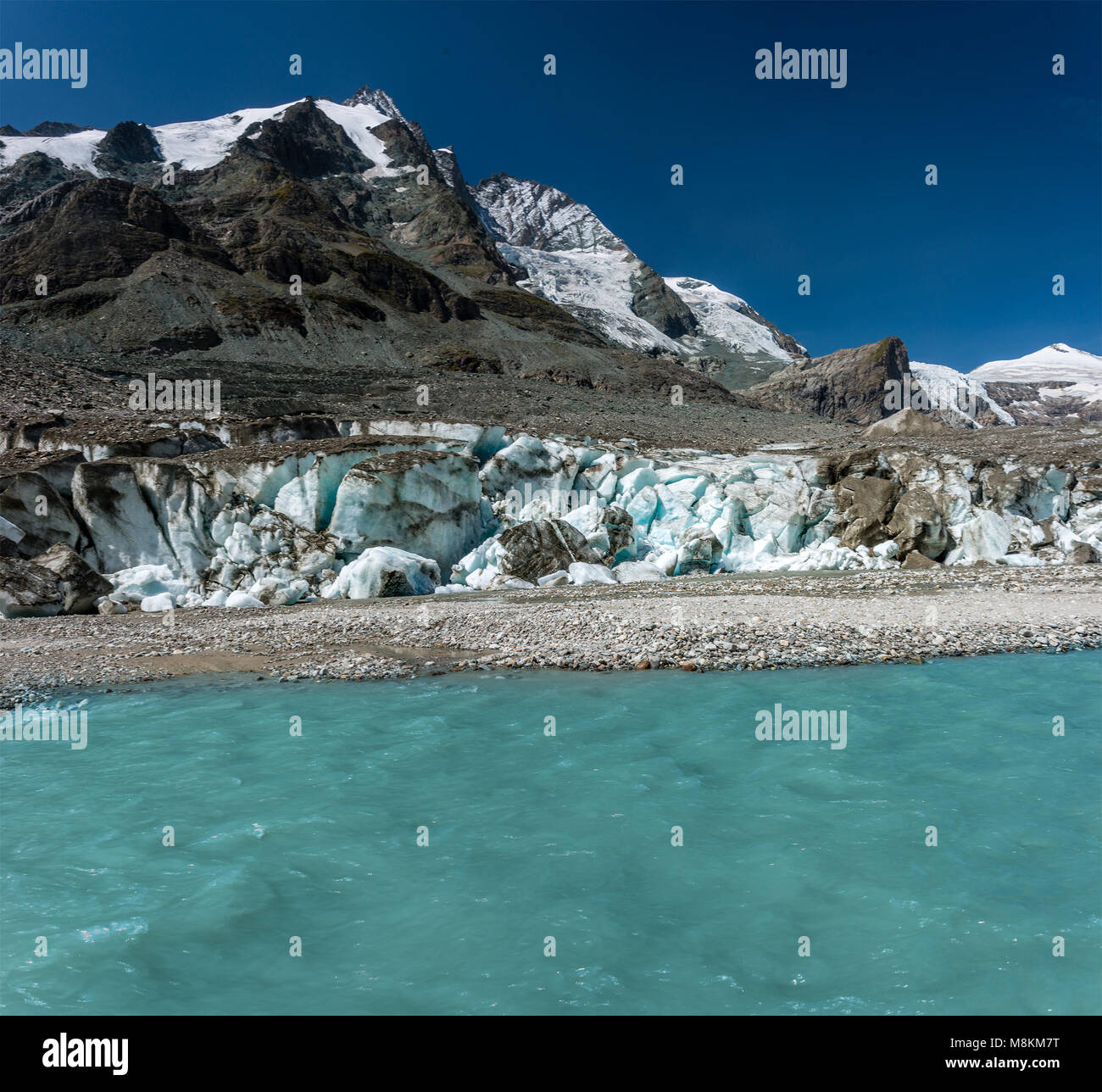 Nationalpark Hohe Tauern, Großglockner Stock Photo