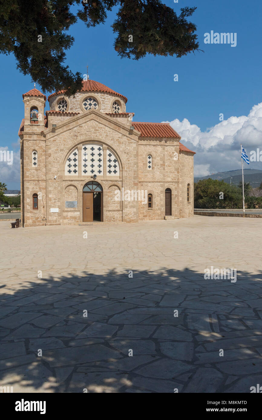 Agios Georgious church, Paphos, Cyprus - Stock Image