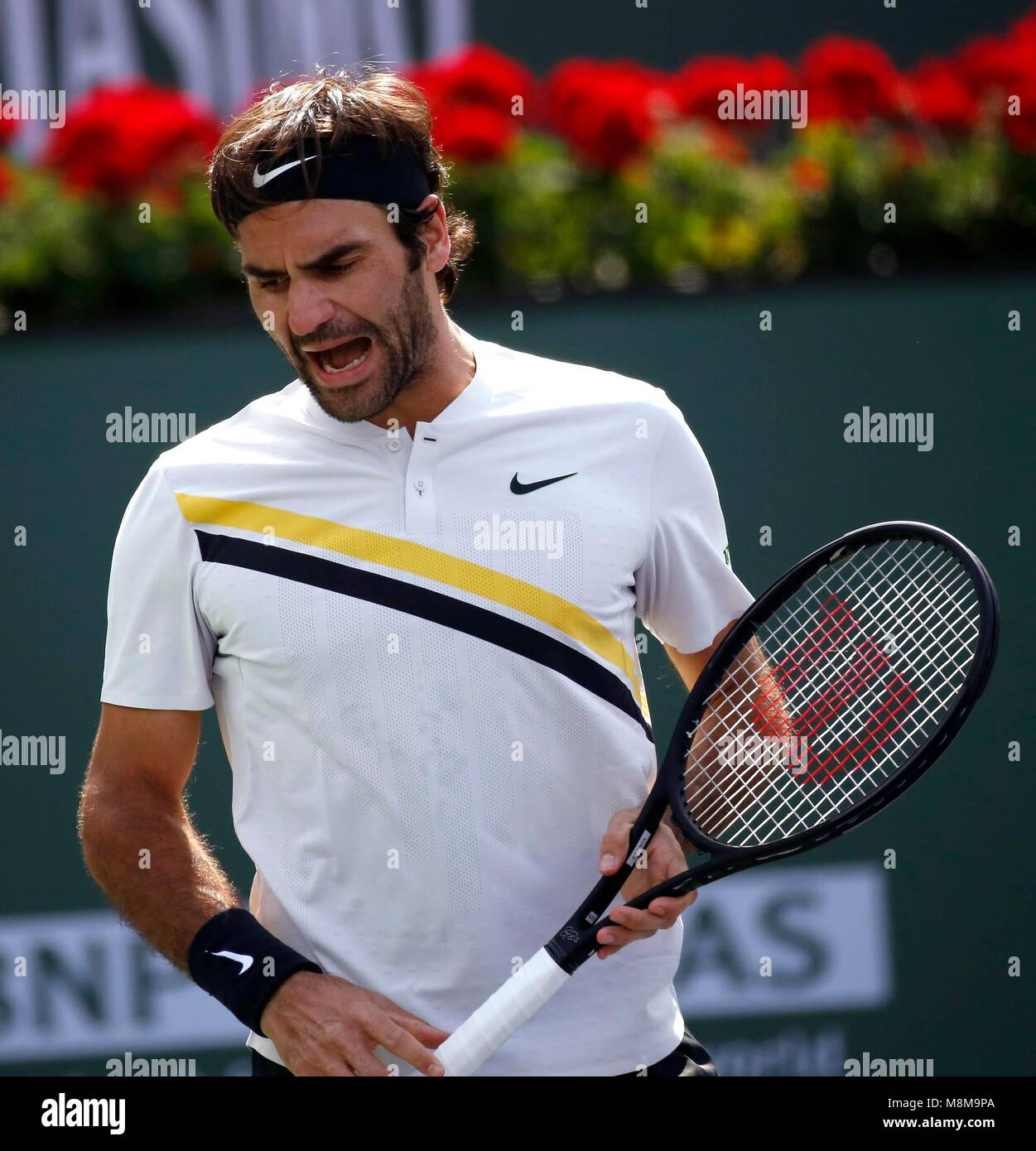 creciendo Atlético lava  Indian Wells, USA. 18th Mar, 2018. Roger Federer of Switzerland Stock Photo  - Alamy
