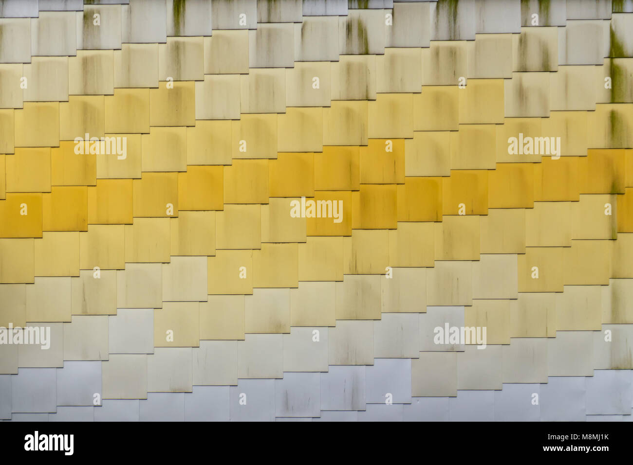 The wall of the Lightbox Art Centre in Woking Stock Photo: 177474127 ...