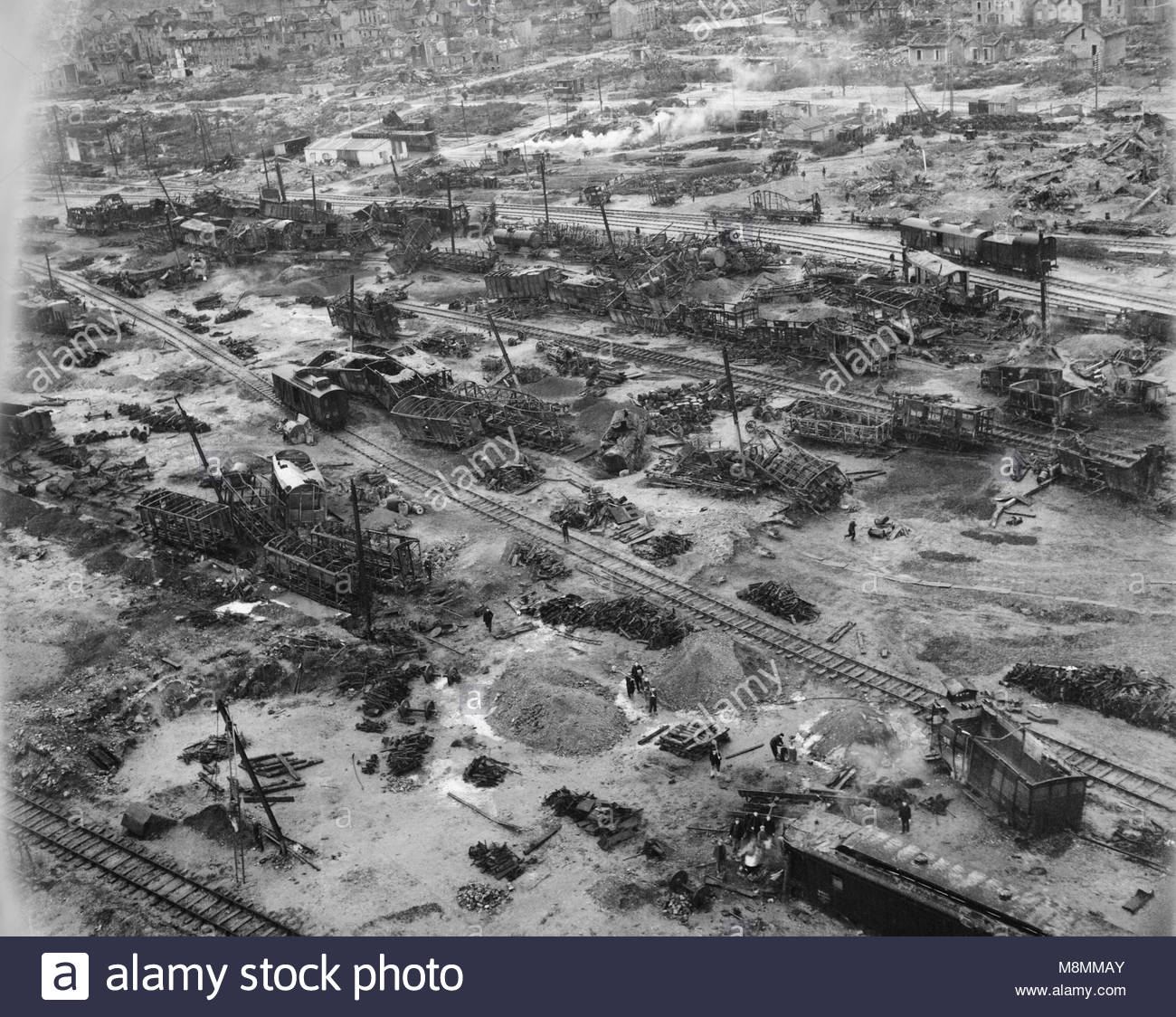 Royal Air Force Bomber Command 1942 1945 Low Level Oblique Aerial Photograph