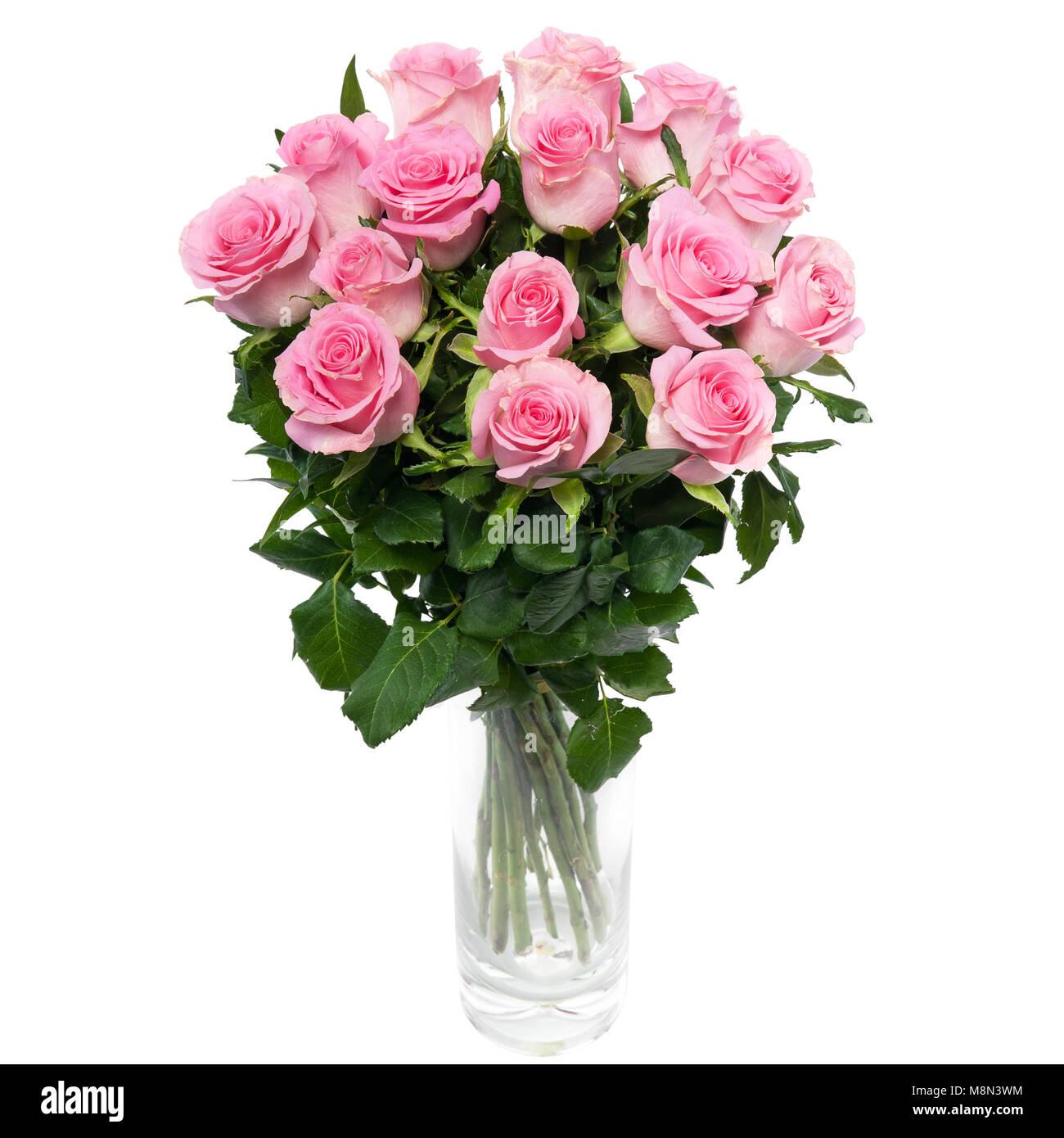Big Bunch Beautiful Pink Roses Stock Photos Big Bunch Beautiful