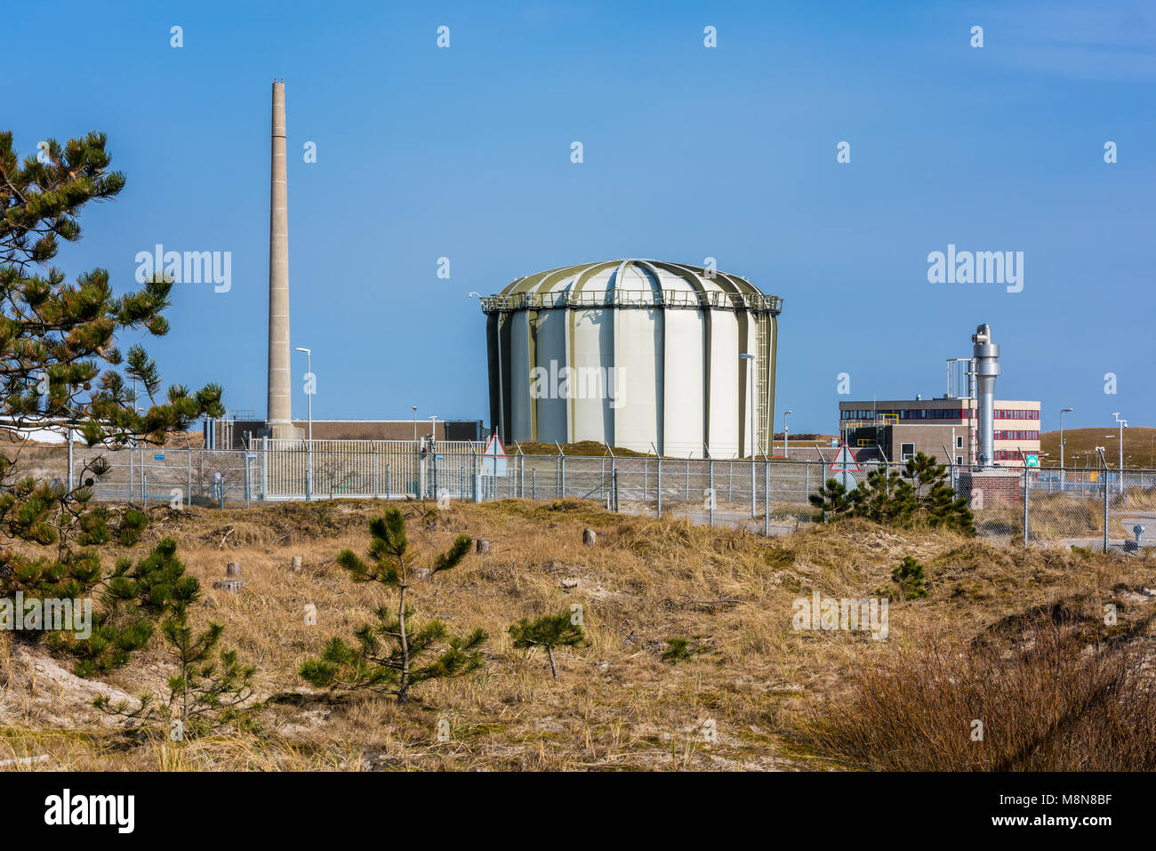 Nuclear Reactor at the Energy Research Centre of the Netherlands (ECN) in Petten, Netherlands - Stock Image