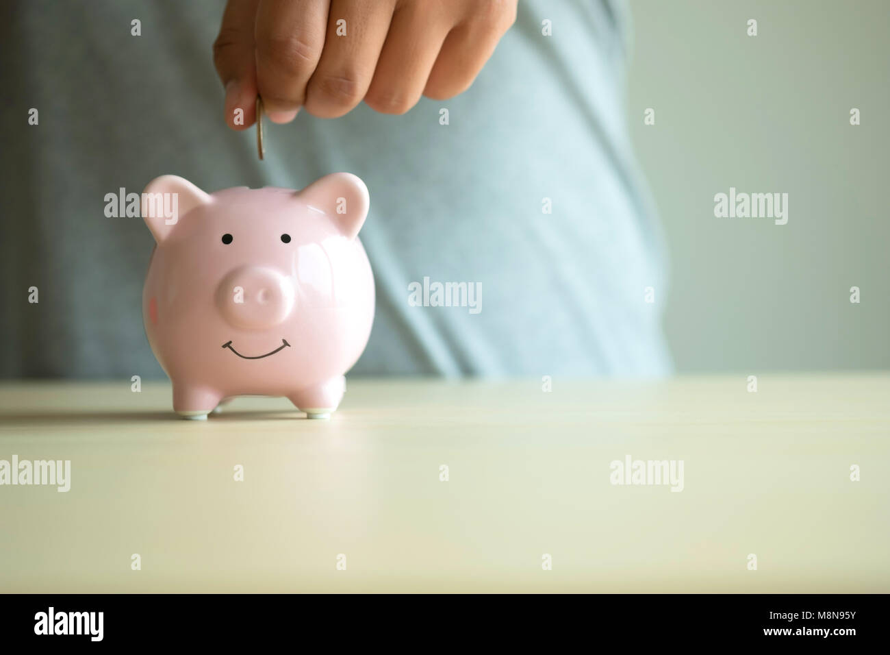 Retirement Plan and Pension to savings money annuity insurance - Stock Image