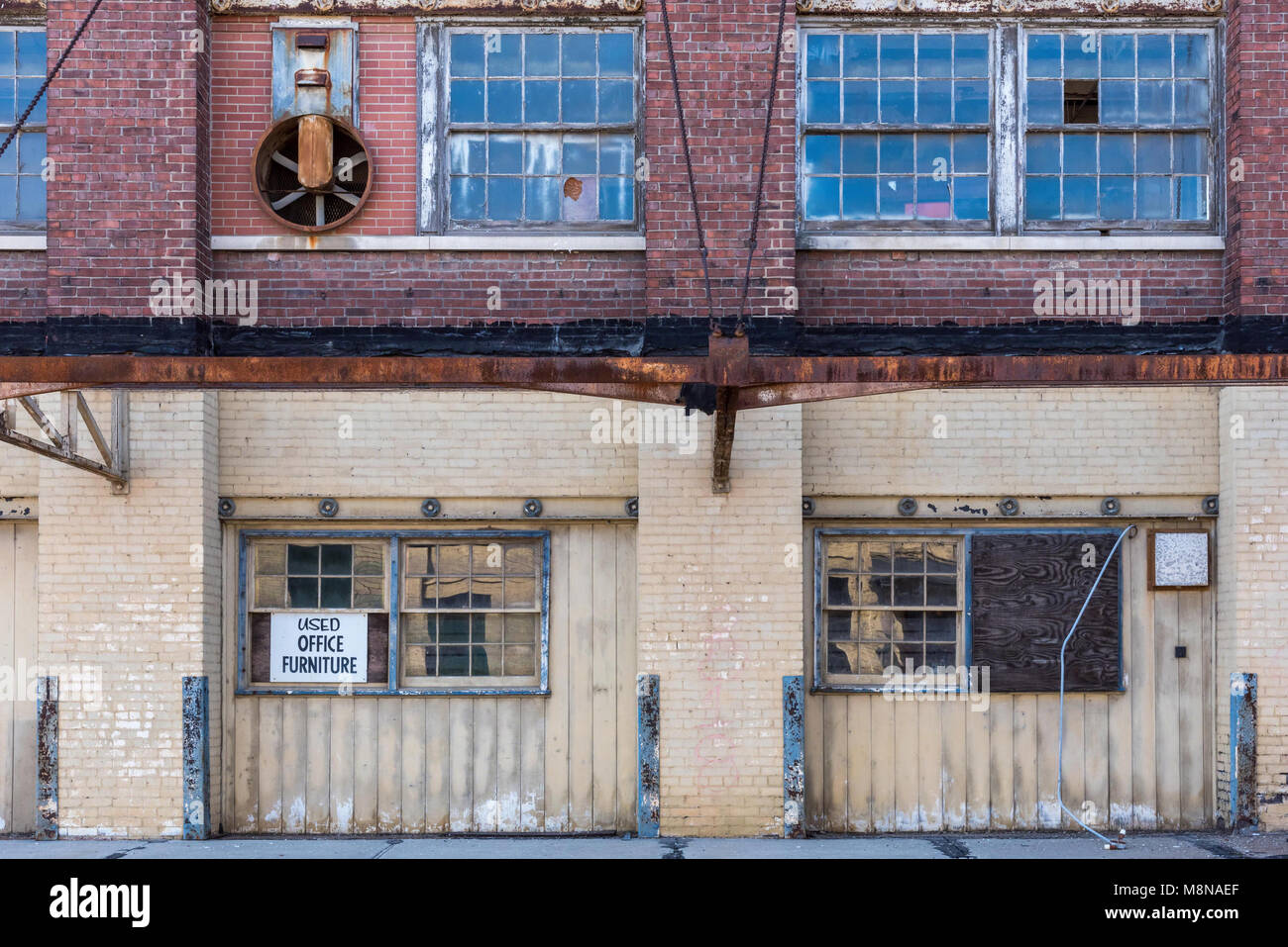 Old Industrial Brick Warehouse Building Stock Photos Amp Old