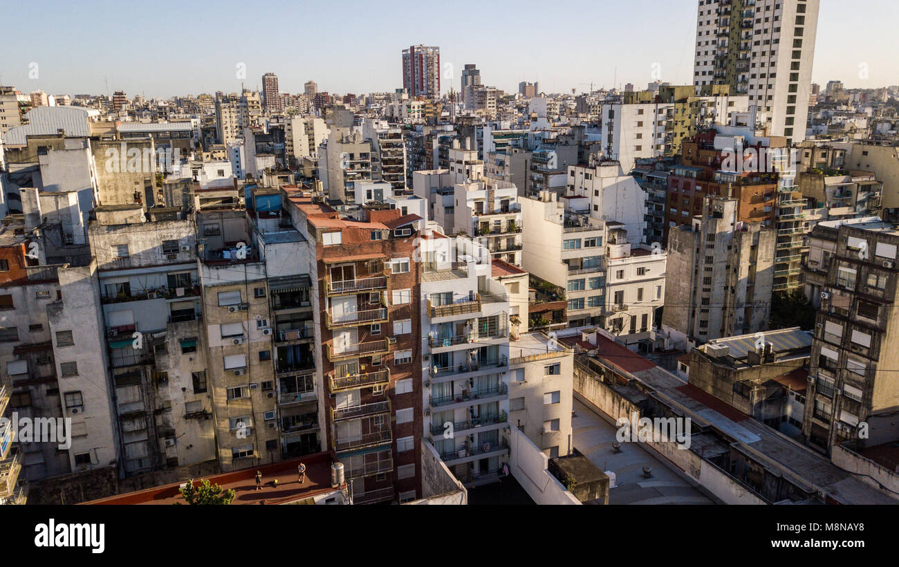 Apartment Buildings In Recoleta Buenos Aires Argentina