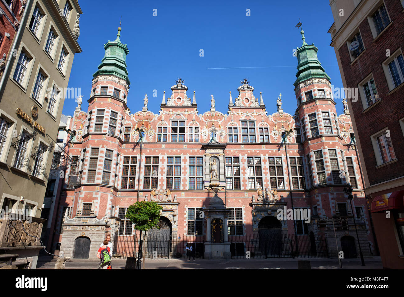 The Great Armoury - Grand Armoury (Wielka Zbrojownia) in city of Gdansk, Poland, Europe, Netherlandic Mannerism - Stock Image