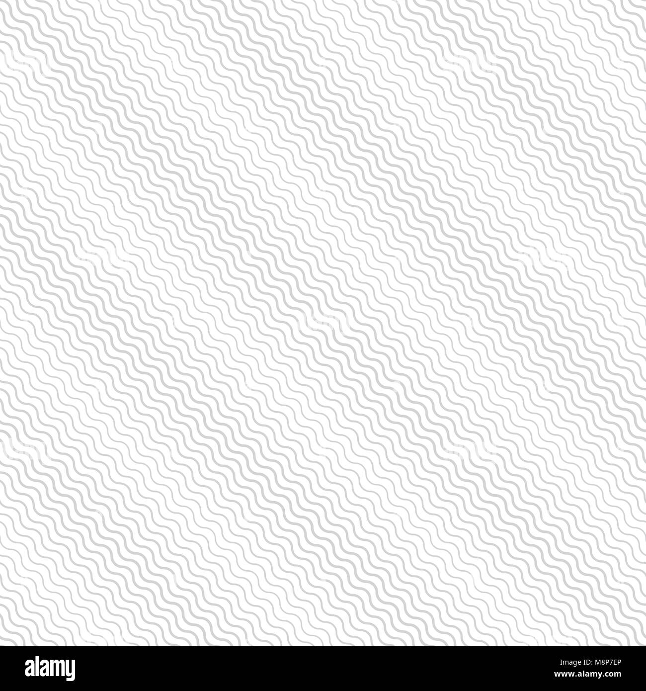 Halftone seamless pattern. Modern stylish geometric texture with repeating gentle pastel diagonal waves. Vector - Stock Vector