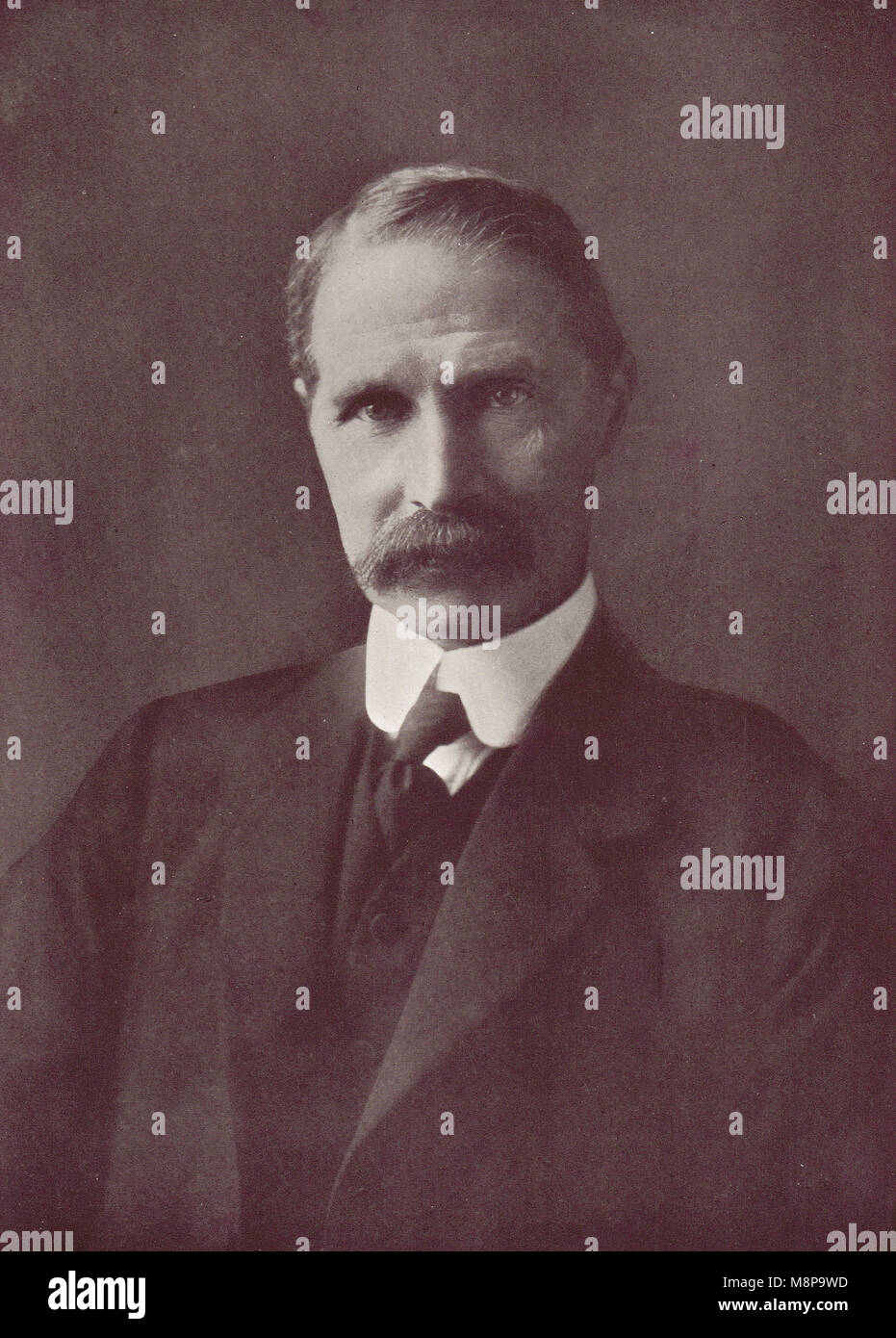 Andrew Bonar Law, leader of the Conservative party, in 1911 - Stock Image