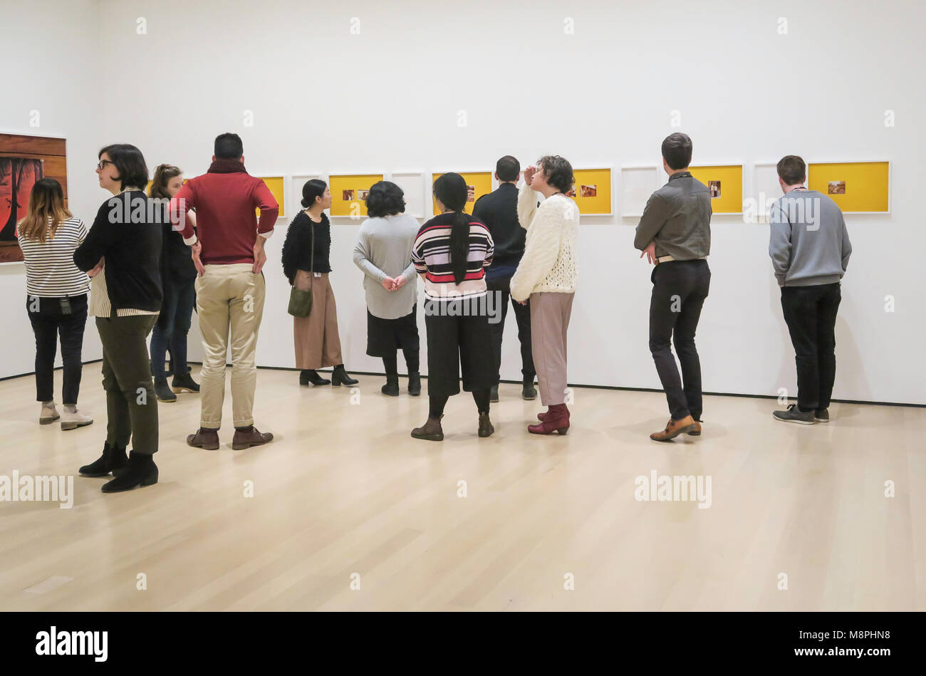 'Being: New Photography 2018' Exhibition at the Museum of Modern Art, NYC, USA - Stock Image