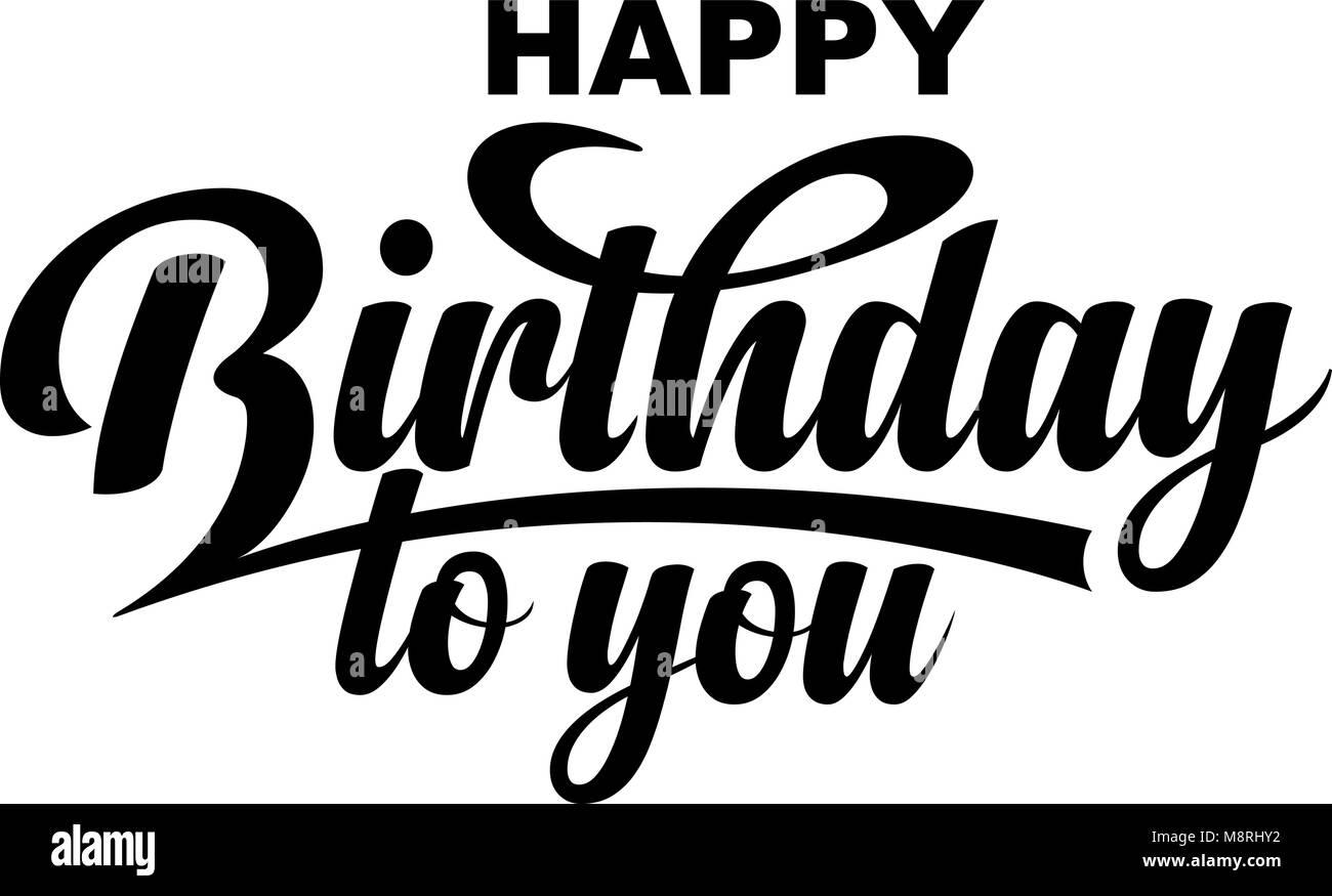 happy birthday black and white stock photos images alamy
