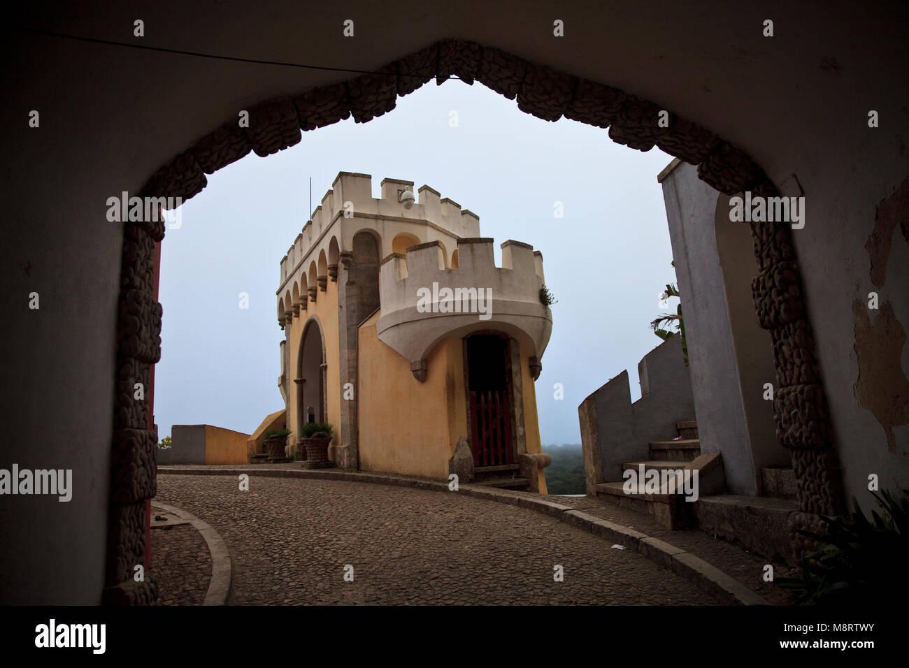 Pena de Palace, Sintra - Stock Image