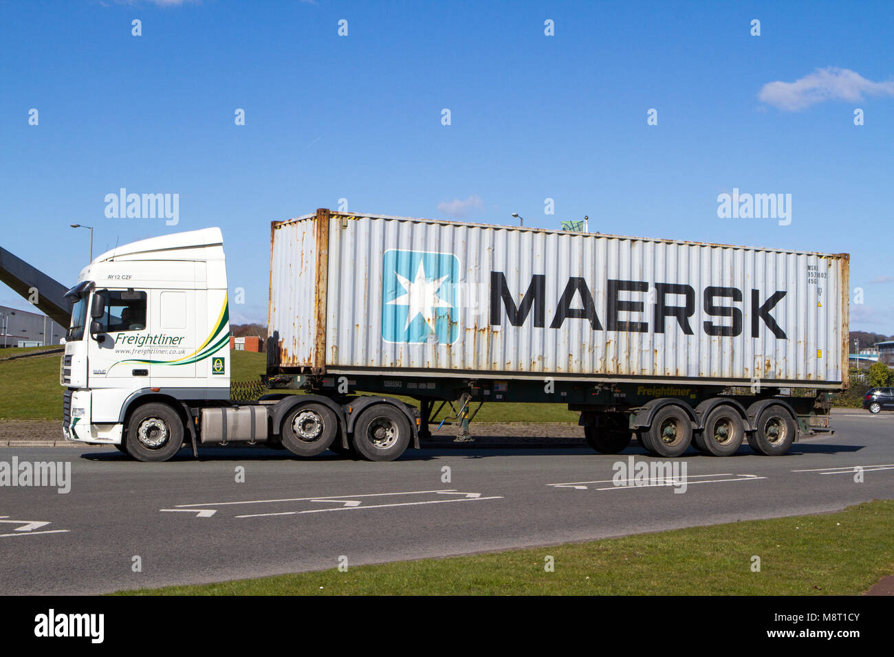 Maersk Container Industry Stock Photos & Maersk Container Industry