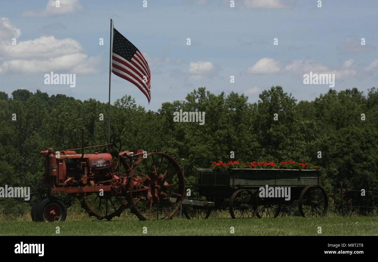 Patriotic Country - Stock Image