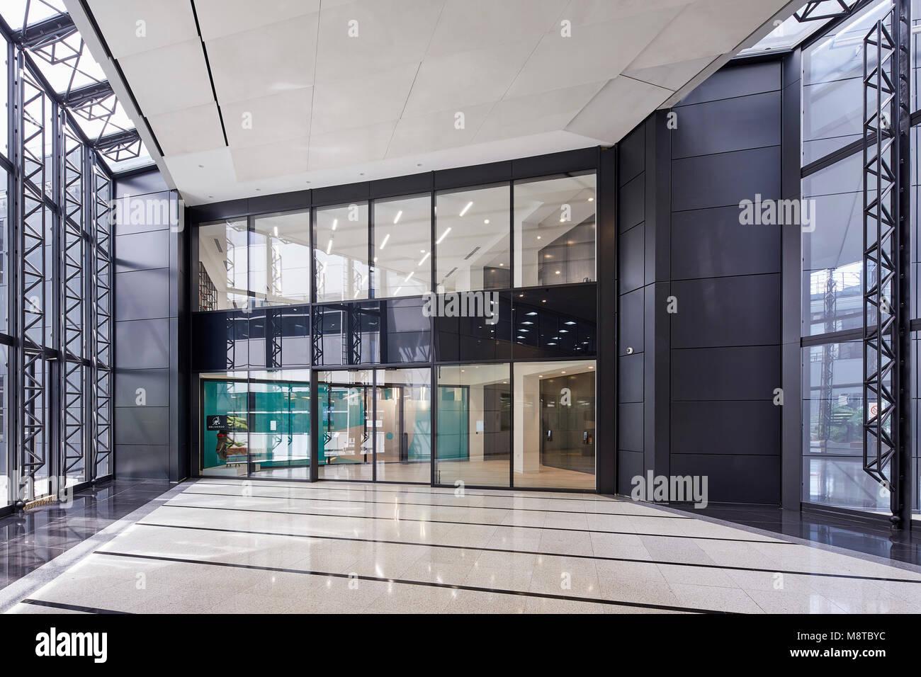 Interior view. The River Building, London, United Kingdom. Architect: Stiff + Trevillion Architects, 2017. - Stock Image