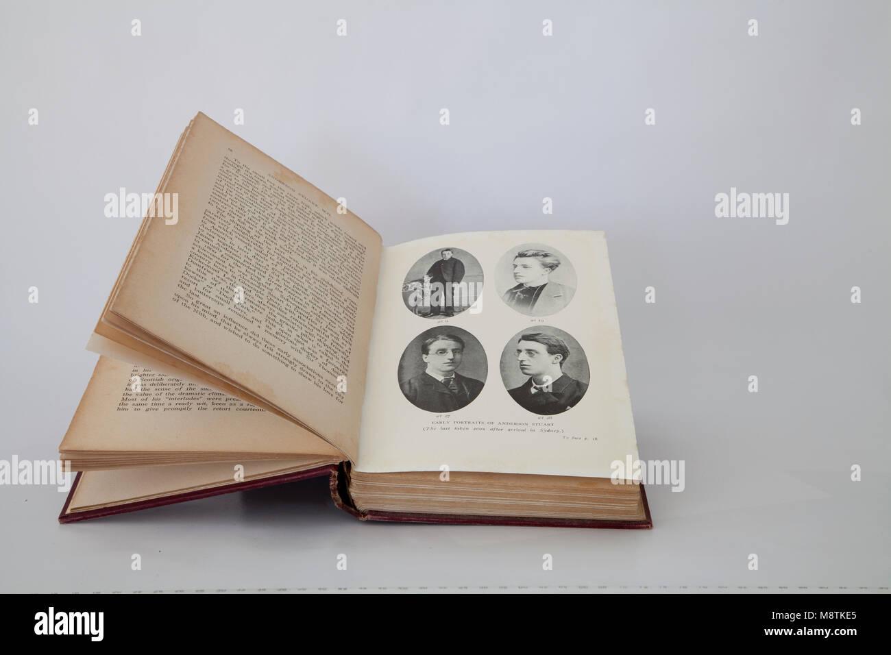 Anderson Stuart Book - Stock Image