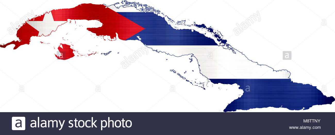 Map Cuba Cut Out Stock Images Pictures Alamy