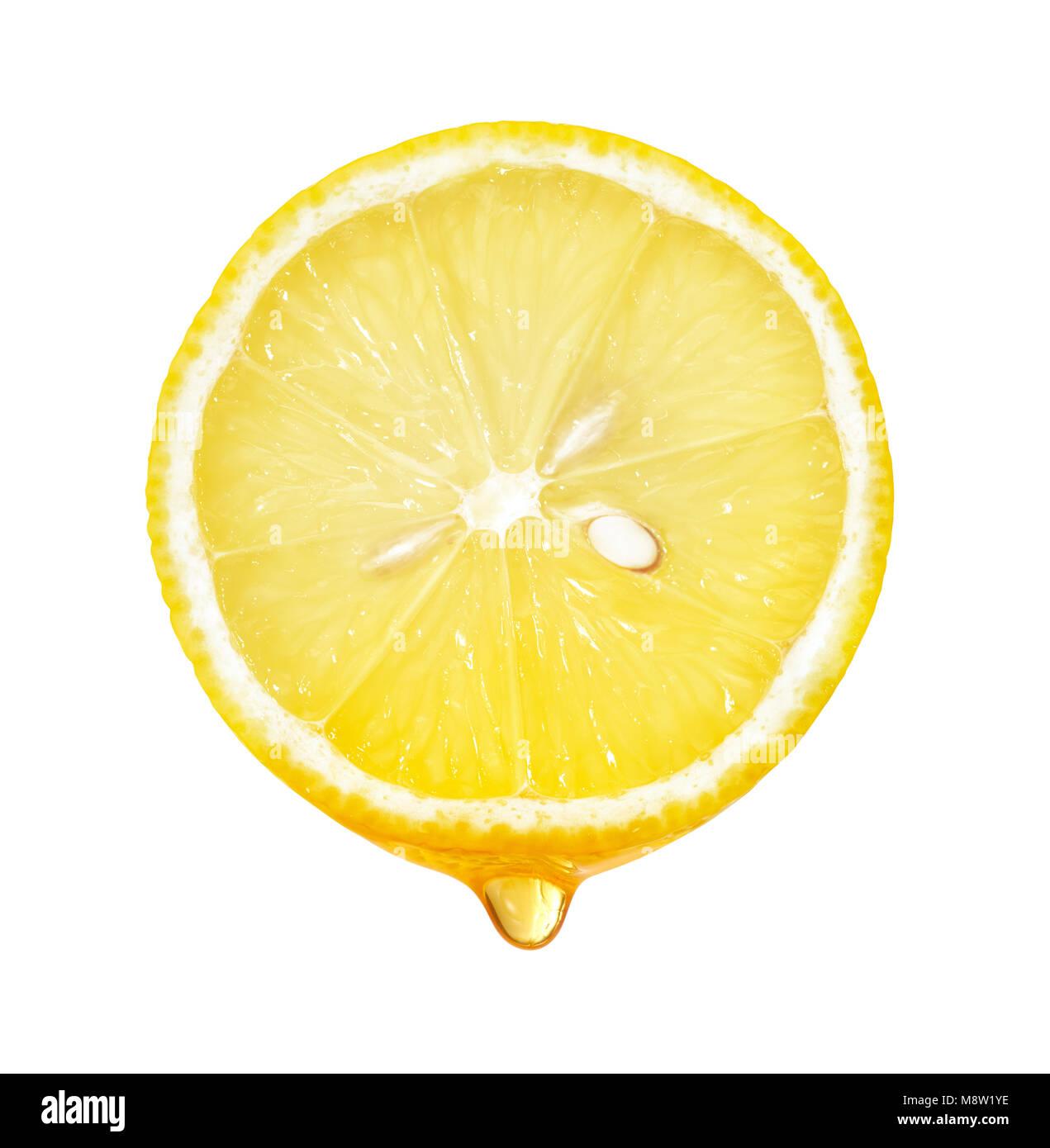 lemon slice dripping stock photos lemon slice dripping stock