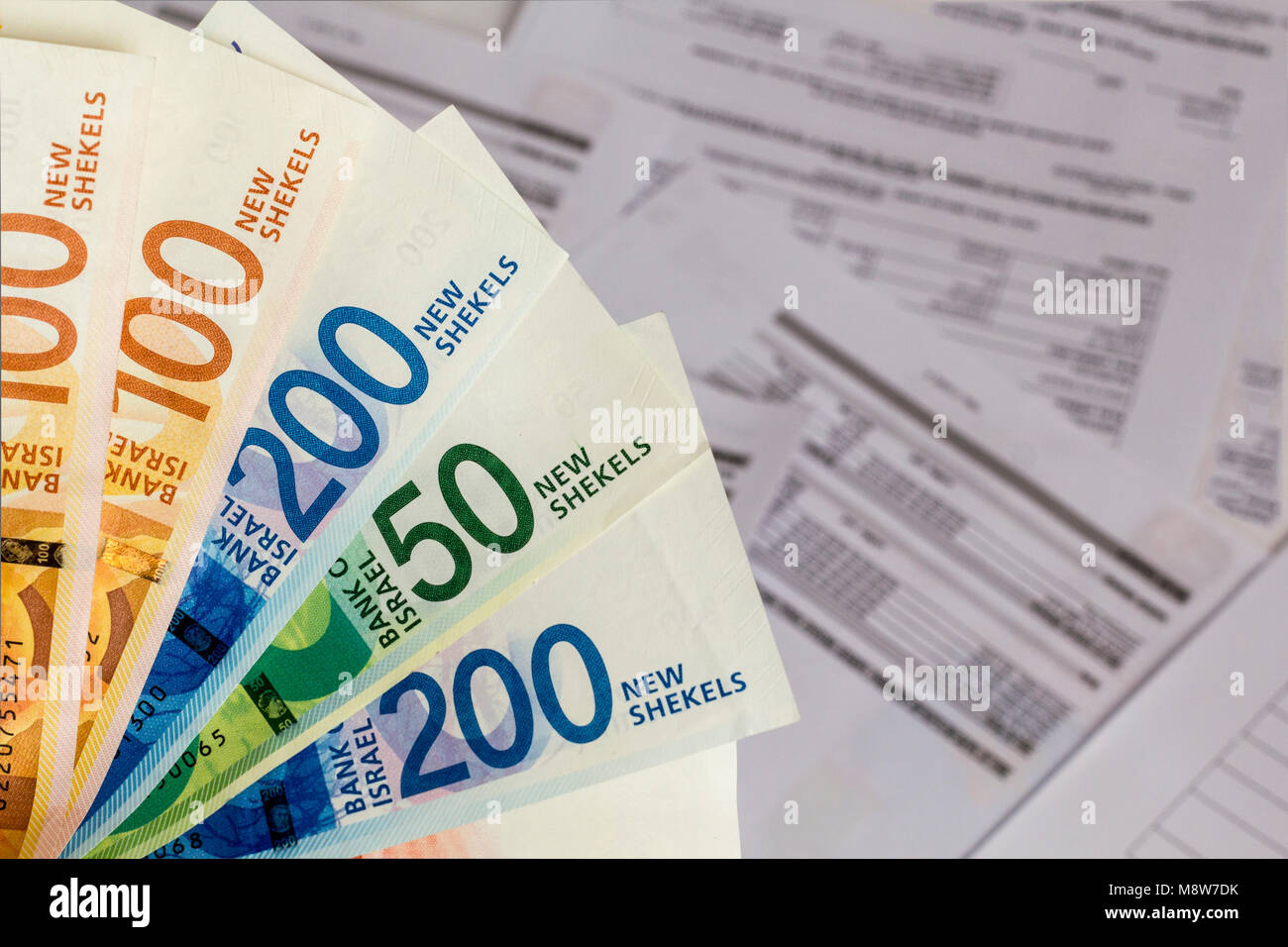 Twenty Shekels Israeli 20 New Sheqalim Bank of Israel 2017 years Paper Bill