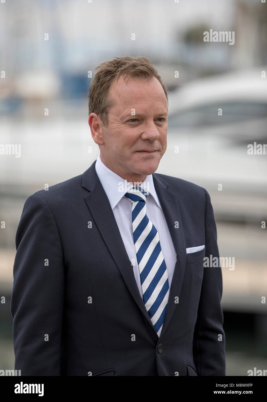 Cannes, France, Oct. 17 2016, Kiefer Sutherland is a Canadian actor, producer, director, singer and songwriter, - Stock Image