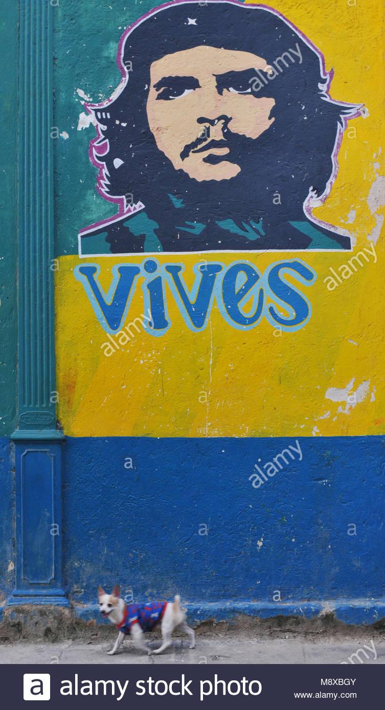 Cuban Street Art In Havana Stock Photos & Cuban Street Art In Havana ...