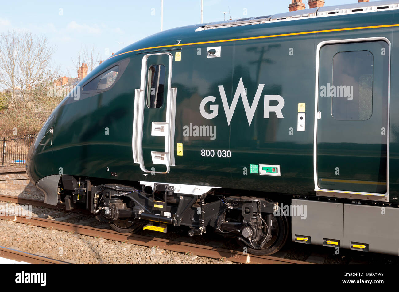 Gwr 800 Stock Photos Images Alamy Wiring X Y W Great Western Railway Class Iet At Evesham Station Worcestershire Uk Image
