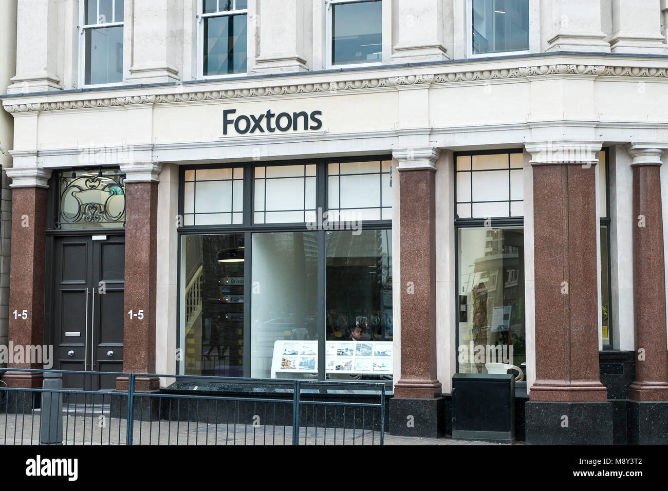 Foxtons Estate Agents in London. - Stock Image