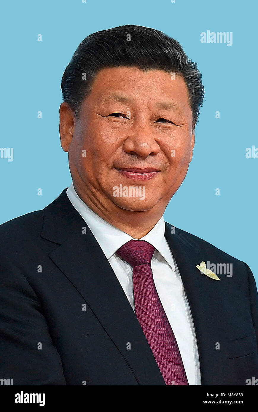Xi Jinping - *15.06.1953 - 7th President of the People's Republic of China and General Secretary of the Communist - Stock Image
