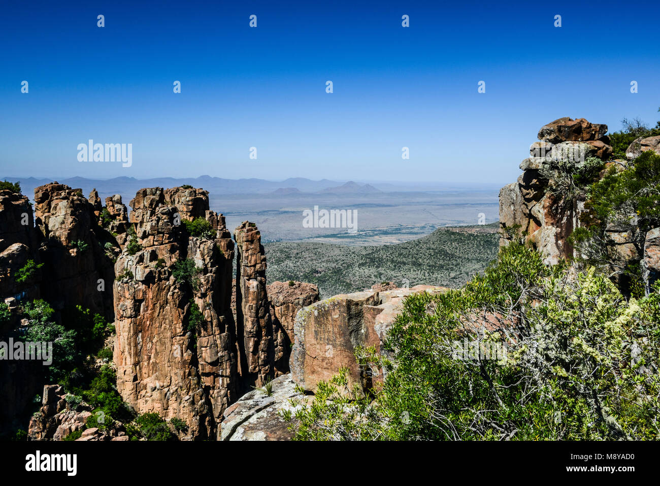 Views from the Valley of Desolation, South Africa - Stock Image