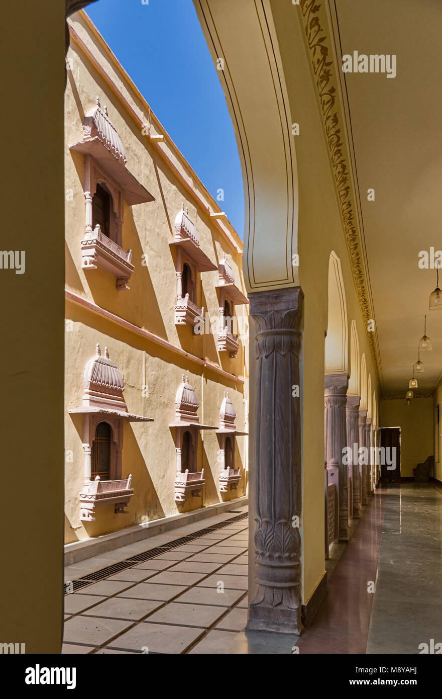 Raj Palace Resort in Ranthambore - Stock Image