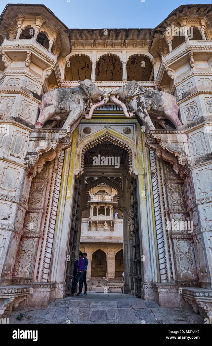 Bundi Palace - Rajasthan, India - Stock Image