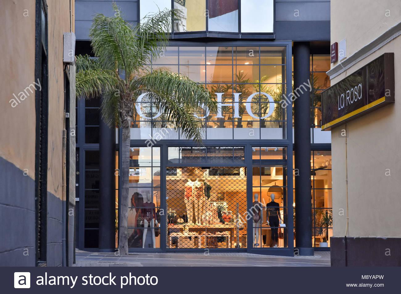 e1723f12f Oysho - clothing retailer women s undergarments brand store window in Santa  Cruz de Tenerife Canary Islands Spain