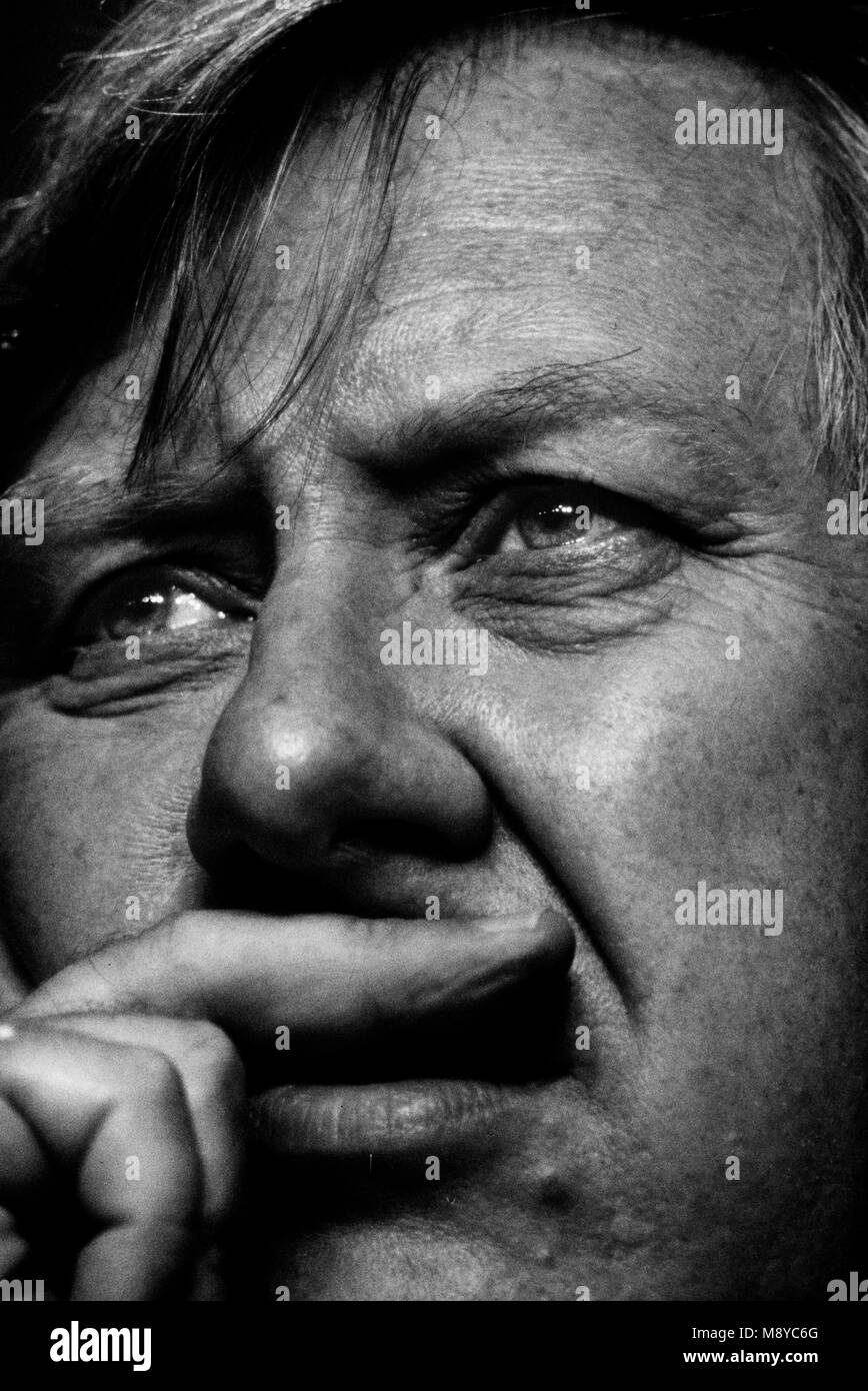 Roy Hattersley Deputy Leader of the Labour Party at the Labour Party Conference Bournmouth England UK 1985 - Stock Image