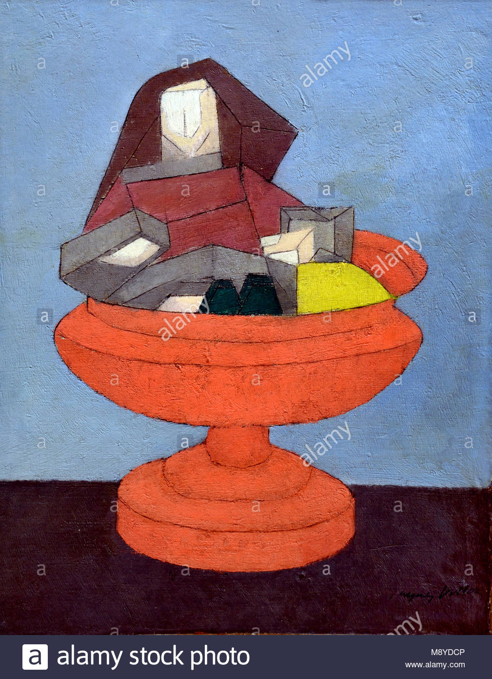 Still life by Jaques Villon 1875-1963 France French - Stock Image