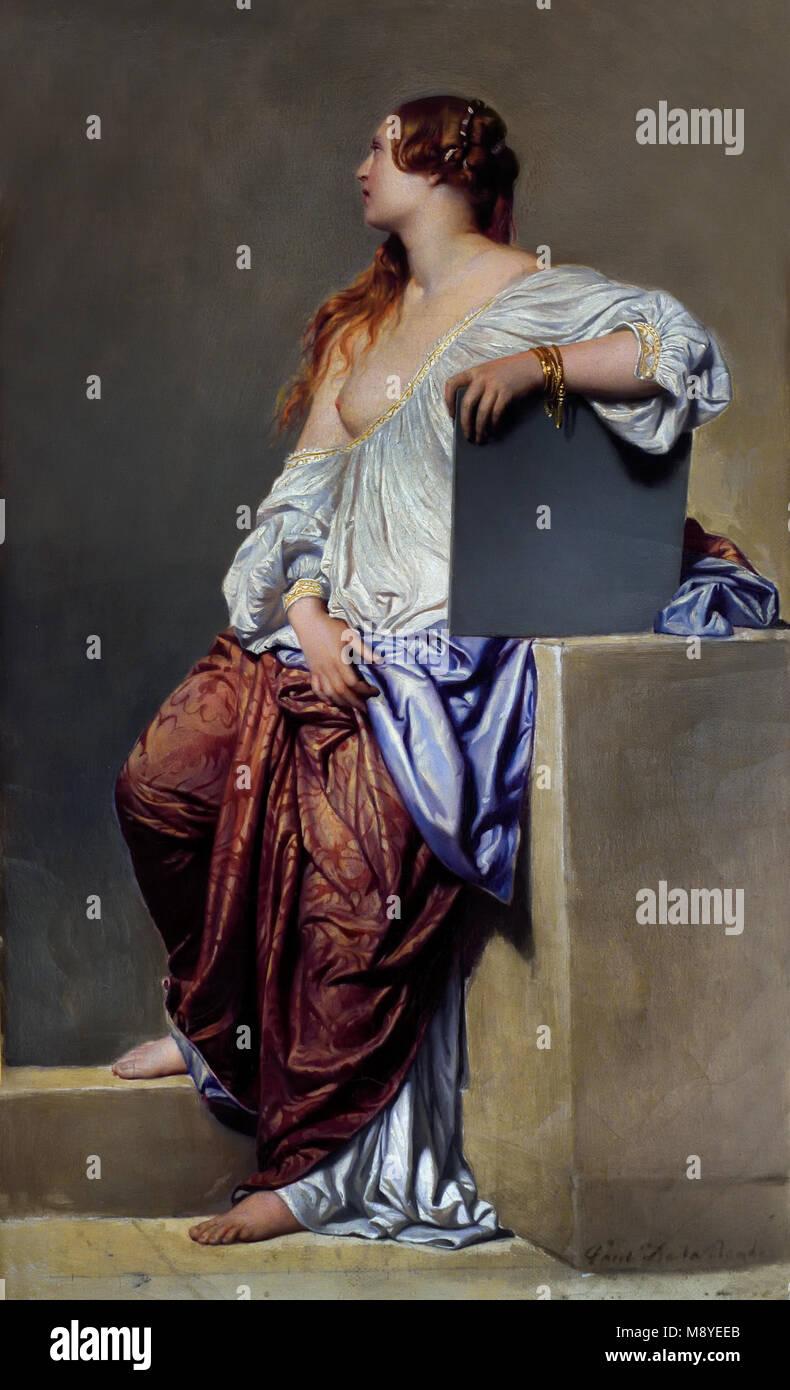 La Renaissance XIXe siècle - The nineteenth century Renaissance Hippolyte de LA ROCHE ( Paul DELAROCHE ) 1797 - Stock Image