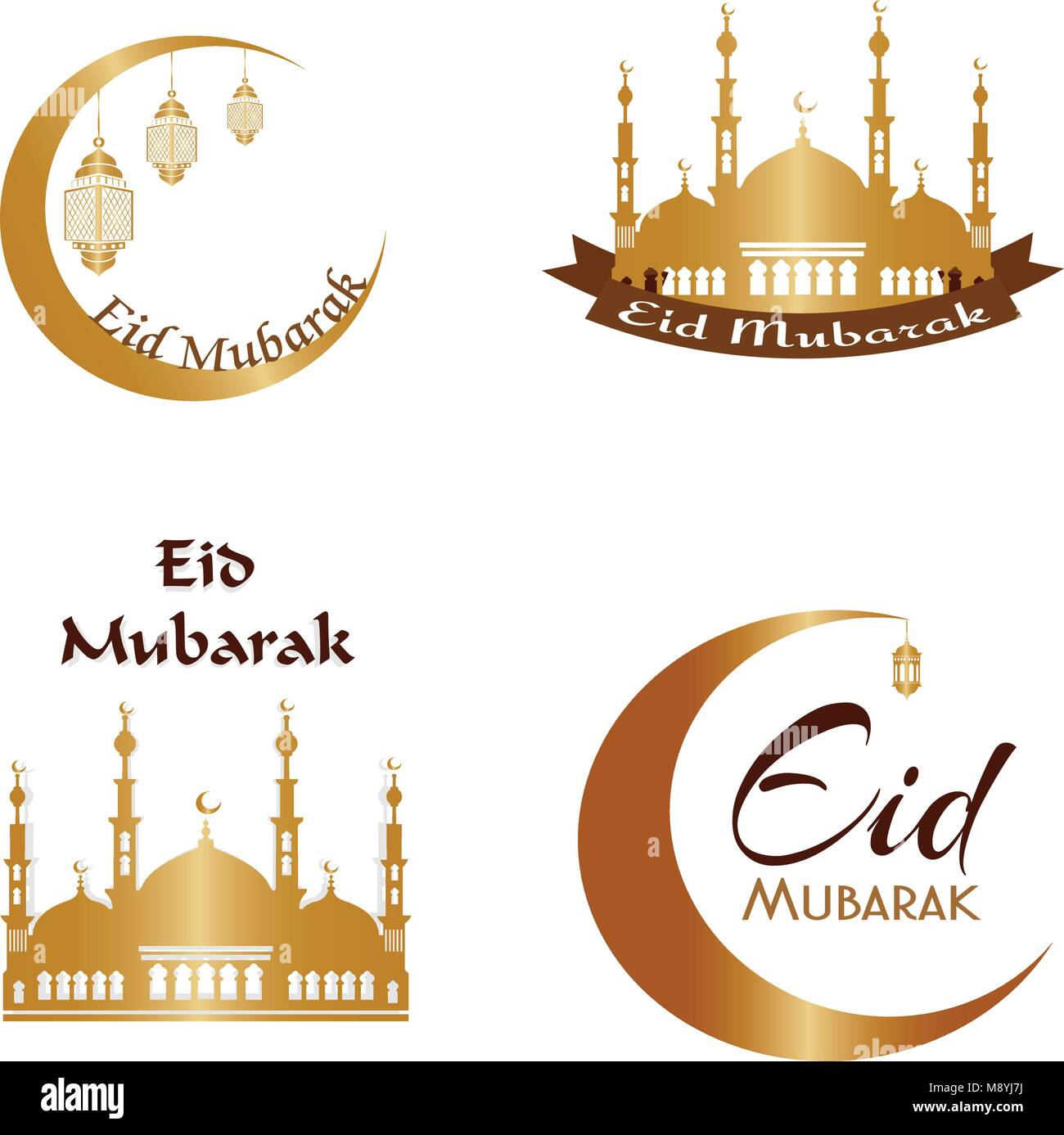 Eid Mubarak Cut Out Stock Images Amp Pictures Alamy