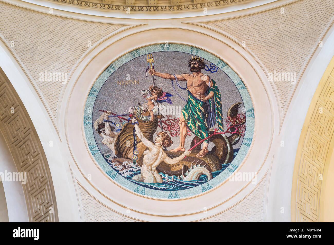 Kurhaus, Foyer, Wiesbaden, Hessen, Deutschland - Stock Image
