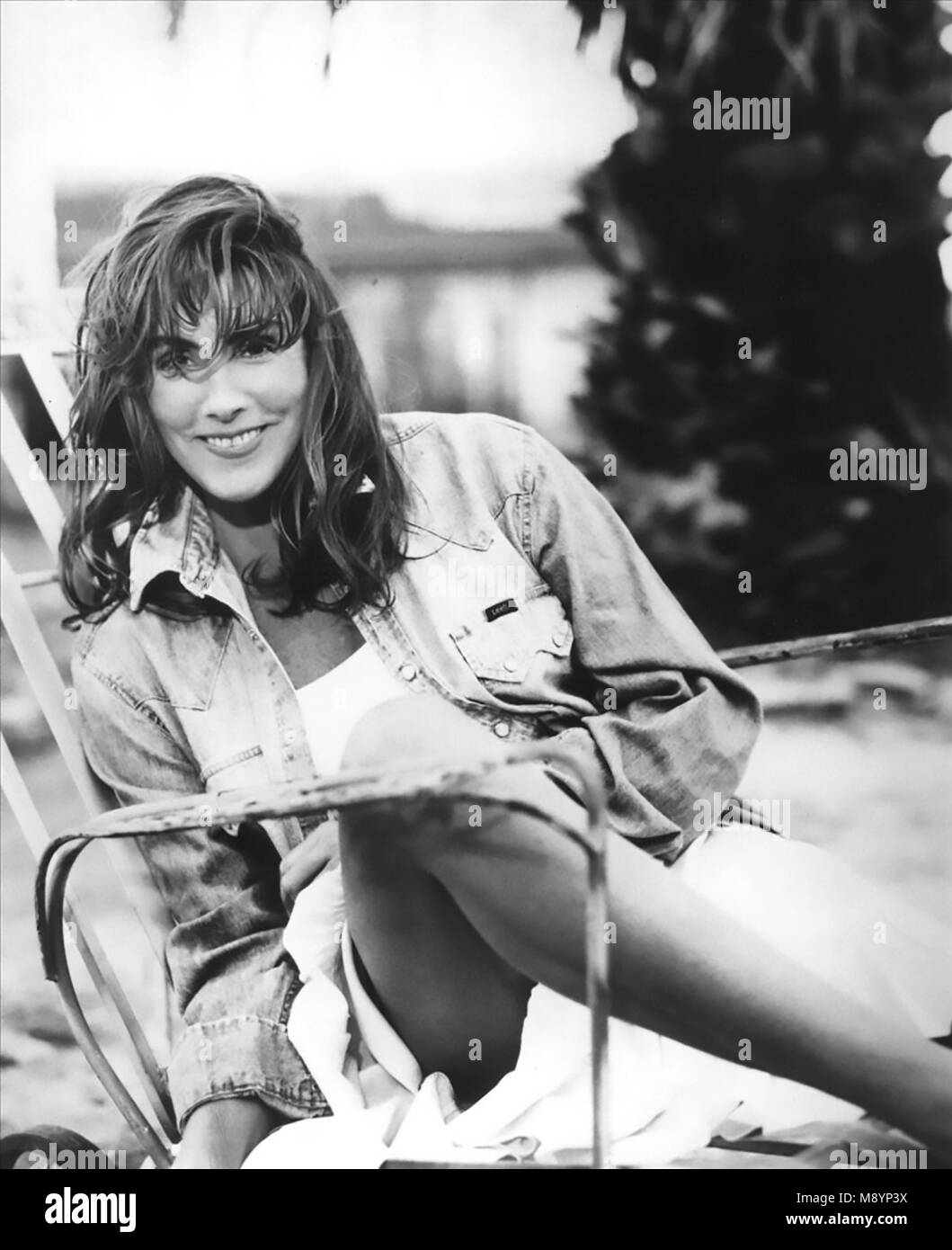 Laura brannigan promotional photo of american singer about 1980 stock image